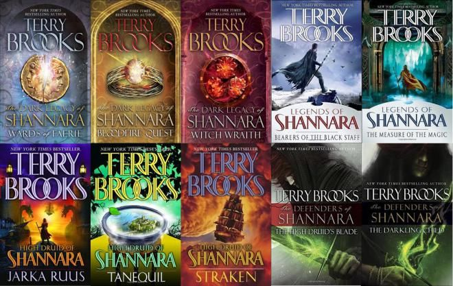 Terry Brooks is most famous for his Shannara Series of fantasy fiction.  For those of you interested in embarking on the Shannara journey, here is a guide to reading the series in chronological ord…