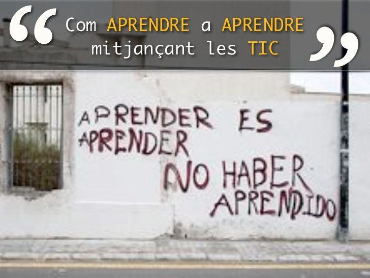 Tic + educació = Escola nova? by Jaime Olmos via slideshare