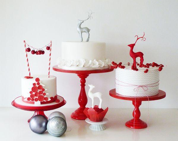 Cake Decoration Caravan : 642 best Elegant Christmas decor/Christmas dessert table ...