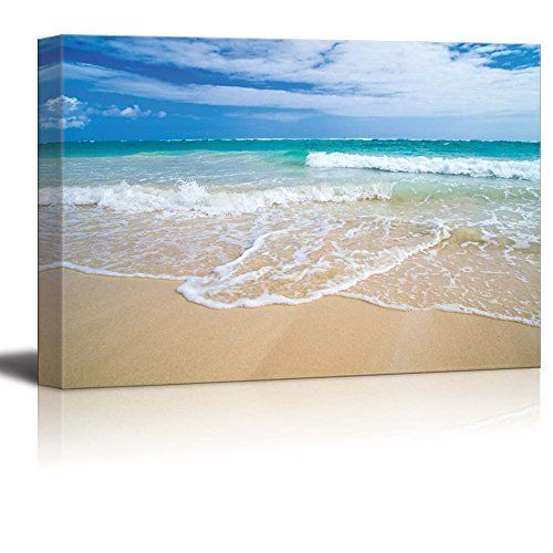 Details about Framed Romantic Scene of Sea Wave Large Canvas Wall Art Print Picture Home Decor