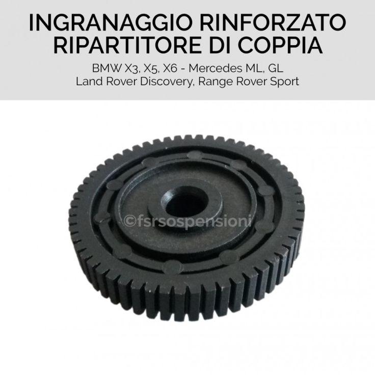 Ingranaggio nero per motorino ripartitore di coppia di BMW - Land Rover - Mercedes Benz