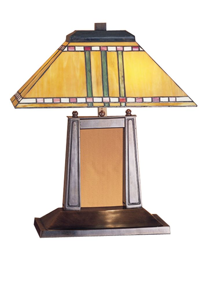 Meyda Tiffany 26004 Priarie Corn Mission Transitional Desk Lamp MD-26004