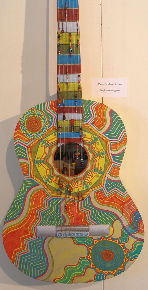 96 best images about custom painted guitars on pinterest ukulele acoustic guitars and hand. Black Bedroom Furniture Sets. Home Design Ideas