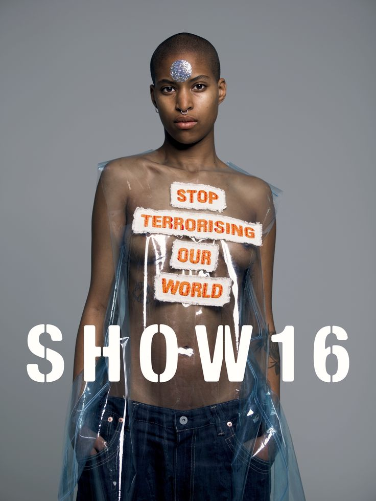 SHOW2016,  La Cambre June 03-04 The Fashion Department of the Royal Academy of Fine Arts – AP university College Antwerp and the Fashion Department of the Ecole Nationale Supérieure des Arts Visuals de la Cambre in Brussels are collaborating for the very first time on their annual fashion show posters with a positive statement and message against the recent attacks in Brussels.