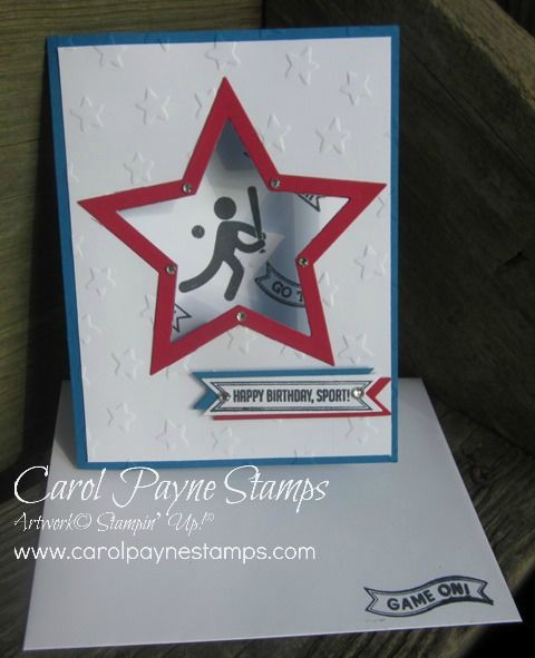 Stampin' Up!, DIY Crafts, handmade birthday card, masculine, Simply Sports, paper crafts, scrap books
