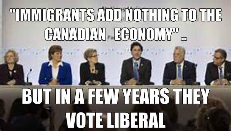 Justin Trudeau explains Canada's Immigration Policy #canpoli
