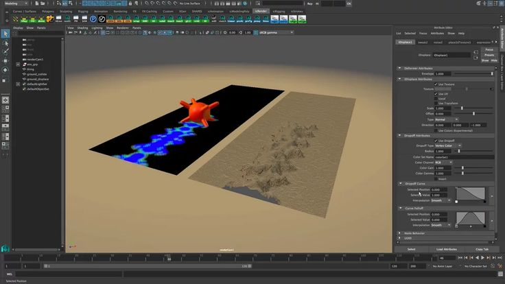 iDeform - Vertex color based displacement on Vimeo