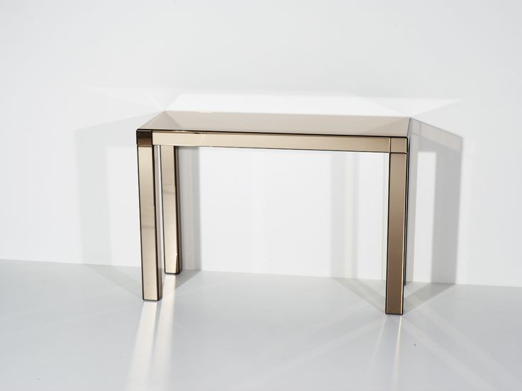 Aton -  Bronze mirror console. #glass #luxury #design #interiordesign #interior