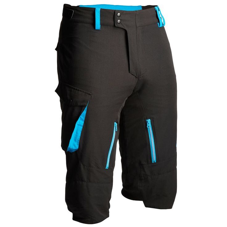 SHORT ALL MONTAIN Noir Bleu - Cuissards, shorts et maillots manches courtes VTT