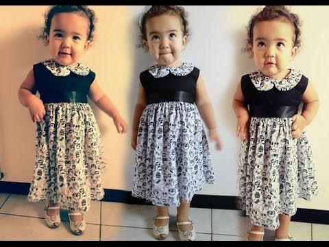 Como fazer modelagem de vestido infantil