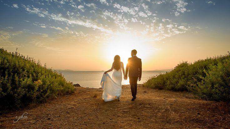 #sunset #couple #sea #sand #ephos #photography
