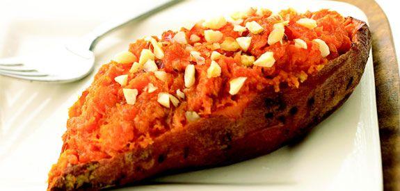 Sandra Lee Twice-Baked Sweet Potatoes- Twice-Baked Sweet Potatoes