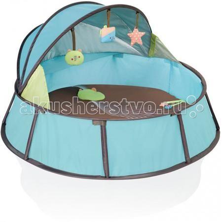 Babymoov палатка Babyni  — 4060р. ------------------------------  Дорожный манеж-палатка Babymoov легко и  компактно складывается для транспортировки. Навес не пропускает ультрафиолетовые  лучи. В комплектацию манежа входят игрушки и москитная сетка.  Можно использовать в помещении и на улице  Особенности: • тент с защитным покрытием от ультрафиолетовых лучей (50+) • сетка от комаров • съемный мягкий матрасик • 2 съемные игрушки • внутренний карман • быстро разбирается и складывается •…