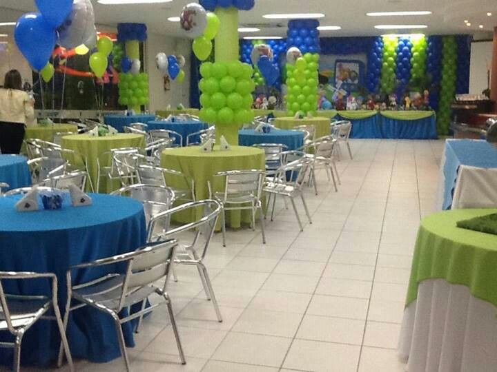 18 best images about easy sistem with balloons on for Terrace party decoration