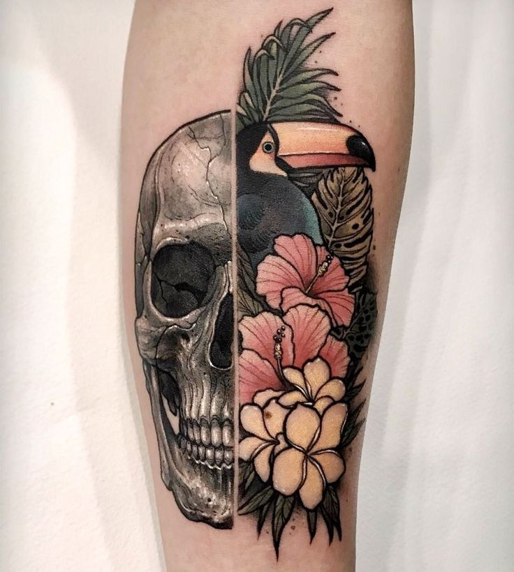 Tropical Flower Rib Tattoos: 17 Best Ideas About Tropical Tattoo On Pinterest