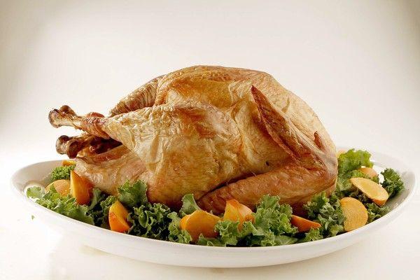 Dry-brined turkey. (Kirk McKoy / Los Angeles Times)