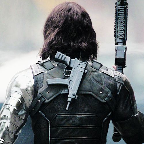 Bucky. I love how he has a skorpion just right behind his neck.
