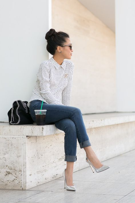 Casual Dots :: Silk blouse