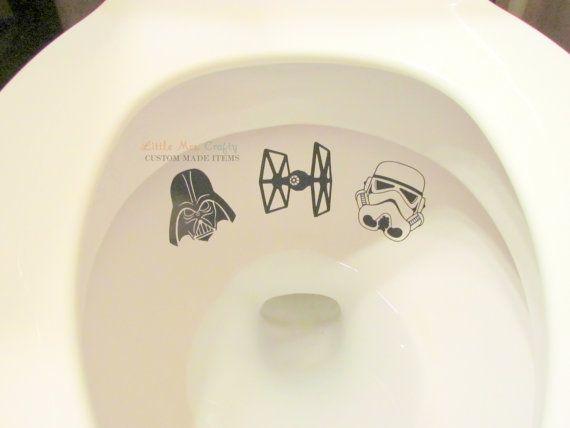 Niños Star Wars baño blanco