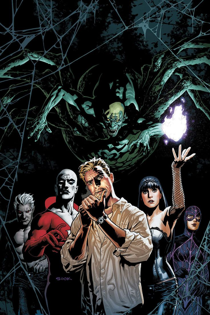 "Justice League Dark has been a title that has been in the works for a while. Originally proposed as a live-action feature, it is now set to join the animated universe. Set for release early 2017, it will be based loosely on the ""New 52"" title."