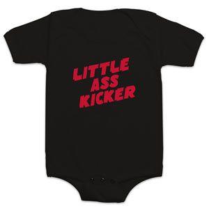 Little Ass Kicker Bodysuit