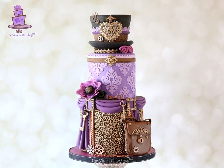 The Violet Cake Shop - Steam Cakes - 2 - IMG_8881 - ii - watermarked