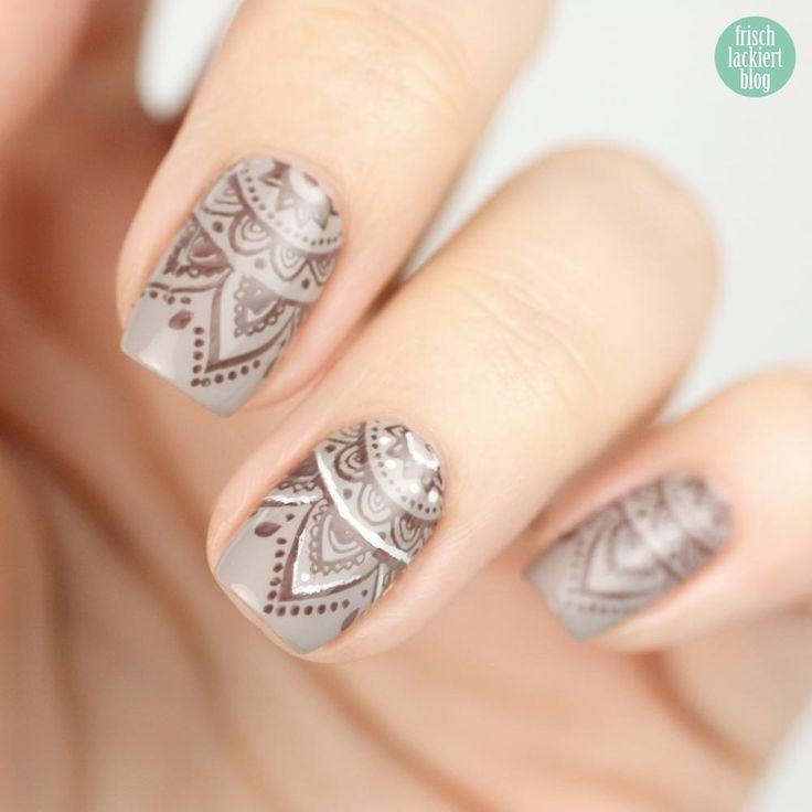 Henna Look – Stamping-Nailart - frischlackiert.de