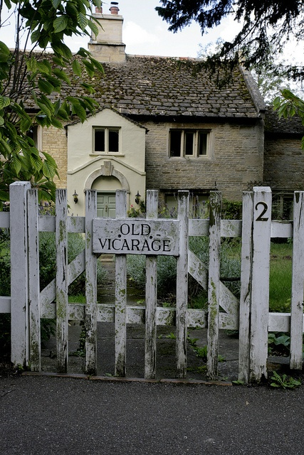 OLD VICARAGE | (Gretton, England) everything in the village is so old, including the vicarage next to the church.