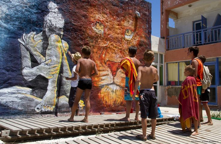 #Creativity at its best during the #Kea / #Tzia cultural festival!   Check our the schedule for more activities on our blog:  http://portokeasuites.blogspot.gr/2013/06/tetrapolis-2013-cultural-festival-of.html