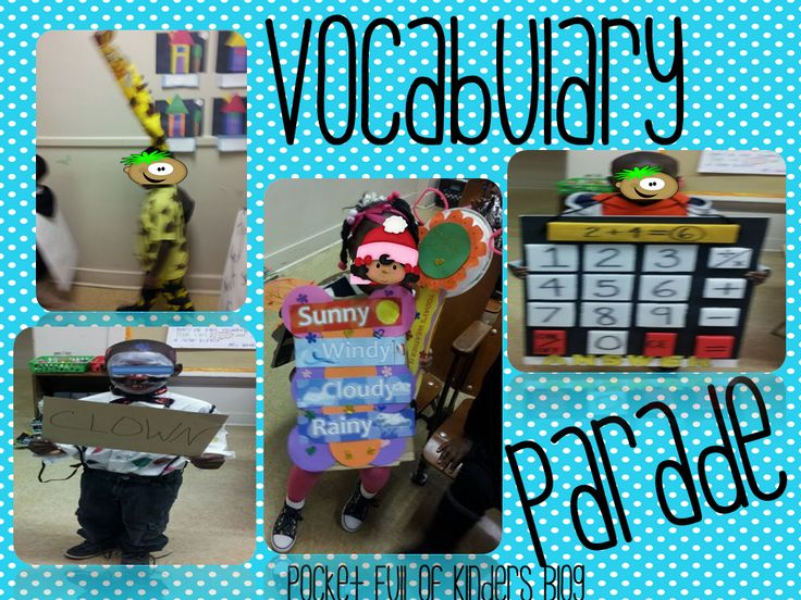 1000  images about vocabulary parade on pinterest