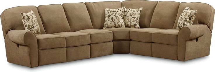 Megan Reclining Sectional Surprise Your Friends With A