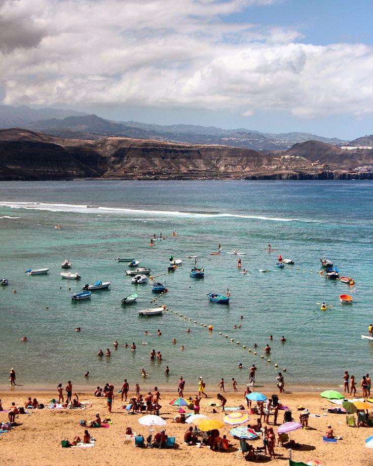 Playa de Las Canteras y Costa norte.