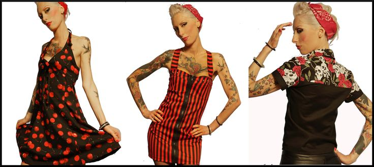 Rockabilly Pin up Punk Clothing