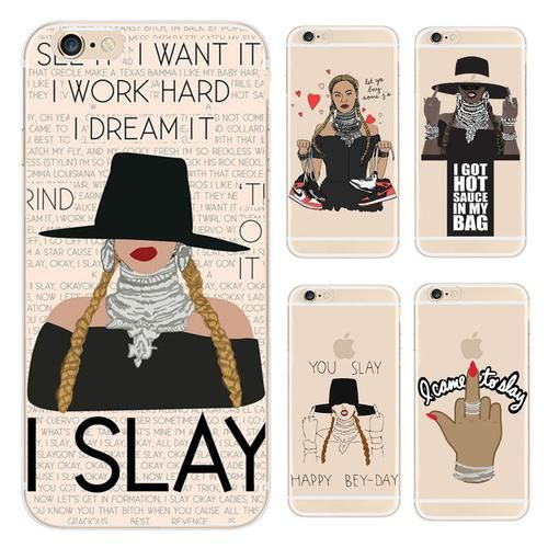 Beyonce I SLAY Pop Music Phone Case For iPhone