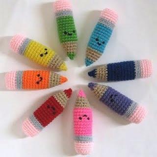 crochet classroom treat