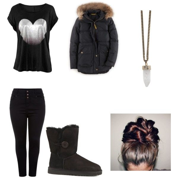 for the bigger by nikita-austin on Polyvore featuring polyvore fashion style Boden UGG Australia Givenchy