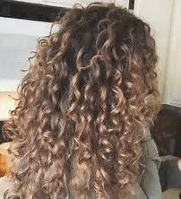 Image result for Hair Color for Curly Hair