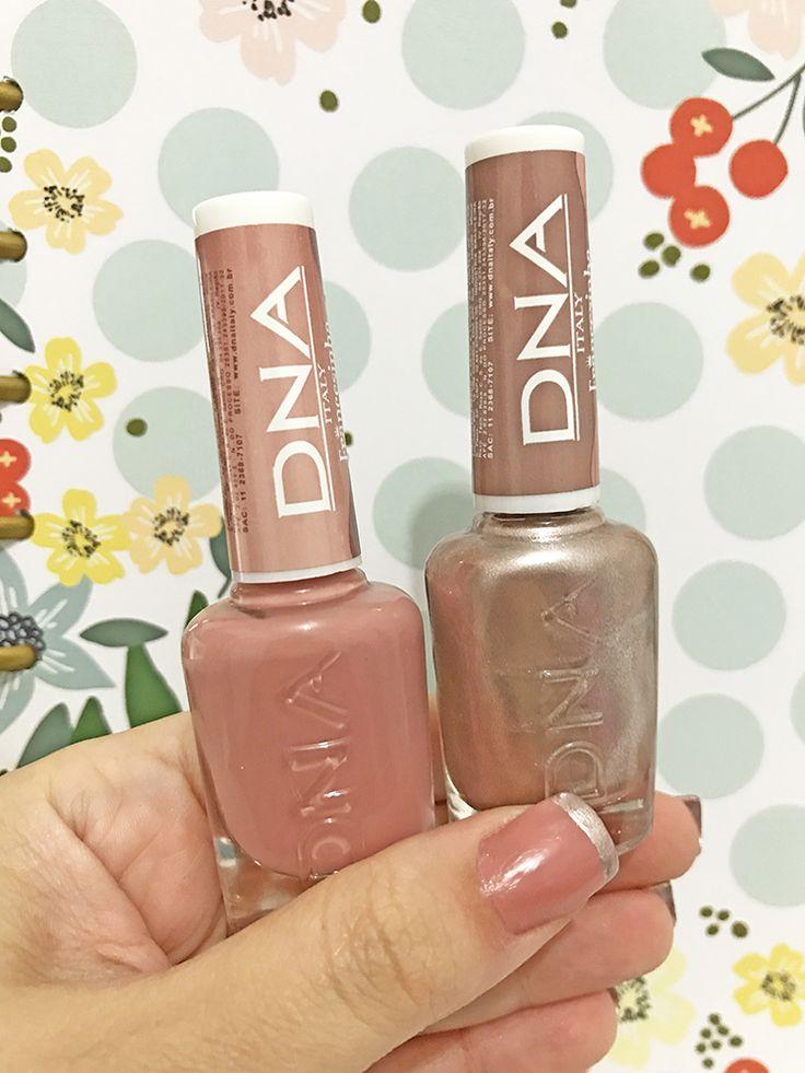 A Francesinha tradicional está sendo atualizada! Conheça a novidade no mundo dos esmaltes, a Francesinha Metálica da DNA italy!