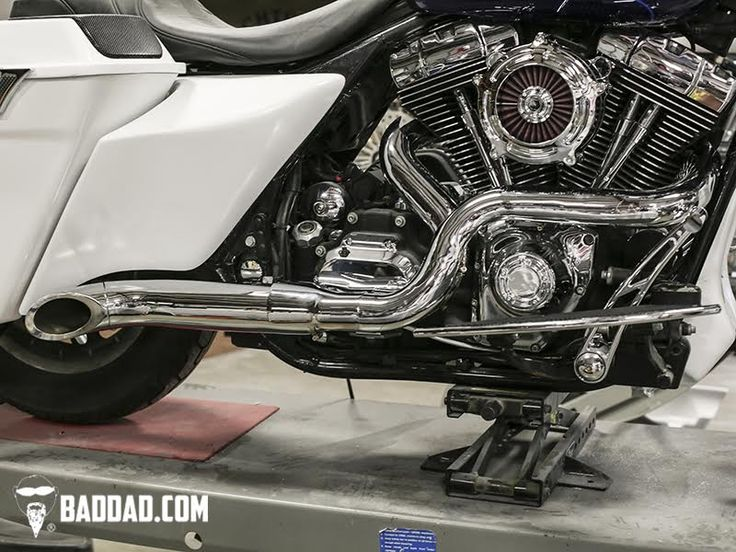 Competition Series 2-into-1 Exhaust | Bad Dad | Custom Bagger Parts for Your Bagger