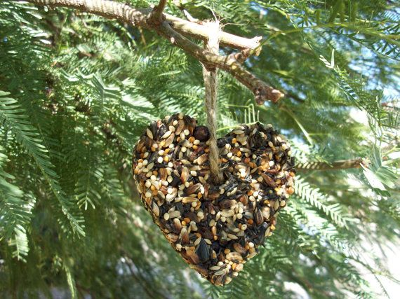 RESeRVED for Molly 20  heart Bird Seed Favors  It's by RusticHutch, $30.00