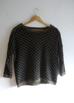 À vendre sur #vintedfrance ! http://www.vinted.fr/mode-femmes/pull-overs/26108096-comme-neuf-pull-sirene-ecaille-mermaid-sweat-paillettes-paillete-naf-naf