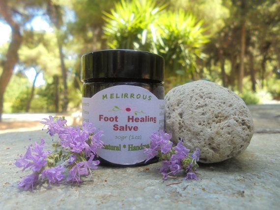 Foot Healing salve  All Natural Ingredients by MelirrousBees
