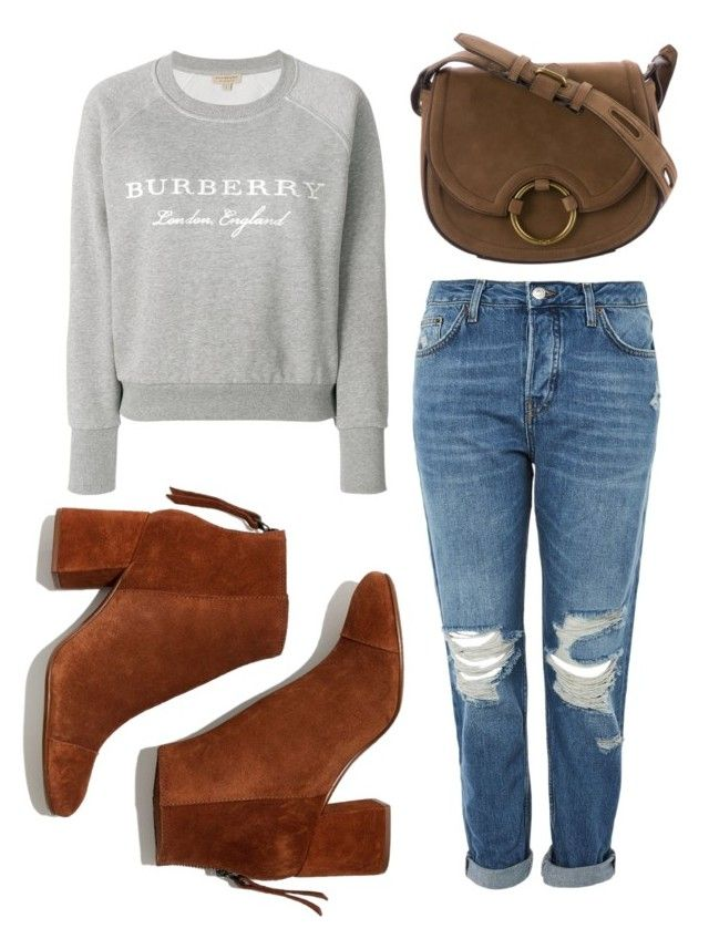 """Untitled #198"" by zsofi-szibilla on Polyvore featuring Madewell, Topshop, Tory Burch and Burberry"