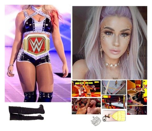 """""""🌸Harper 🌸-And The New WWE Champions!"""" by banks-on-it ❤ liked on Polyvore featuring Casetify and WWE"""