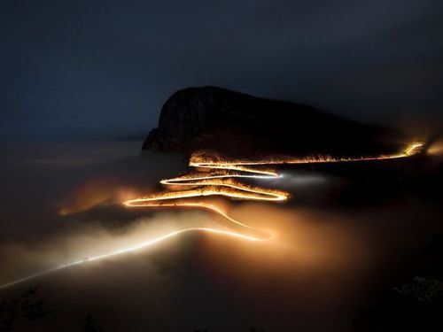 Long exposure and fog