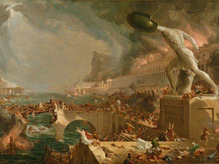 Thomas Cole, The Course of Empire