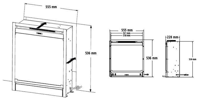 DIMPLEX Lareiras Elétricas | Modelos de Lareiras Elétricas - Bariloche DF20