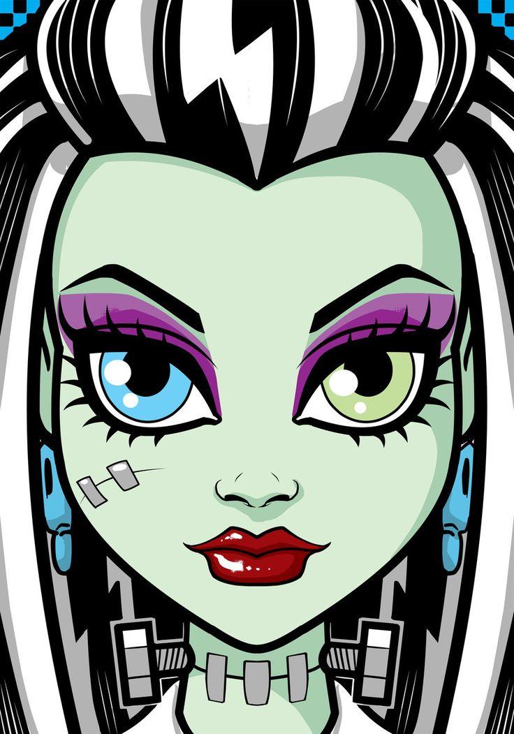 Monster High Frankie Stien by Thuddleston.deviantart.com on @DeviantArt