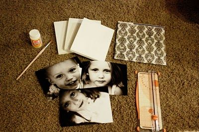 Photo Canvas Wall Art {DIY Decorating} This would be great for us or the grandparents!