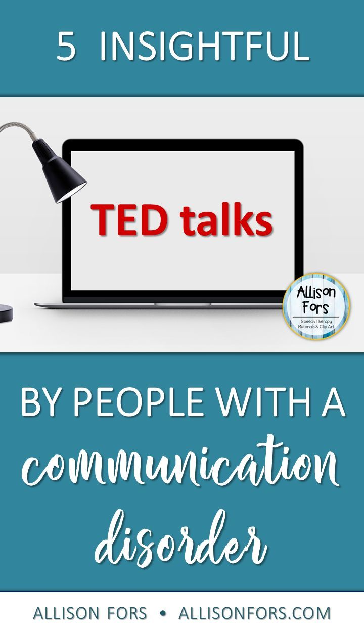 5 Insightful TED Talks by People with a Communication Disorder
